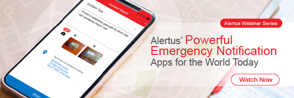emergency notification applications