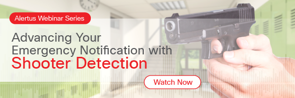 Shooter detection webinar replay