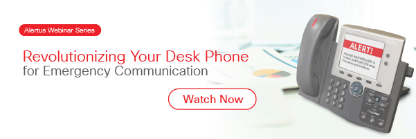 Desk phone for emergency communication webinar replay
