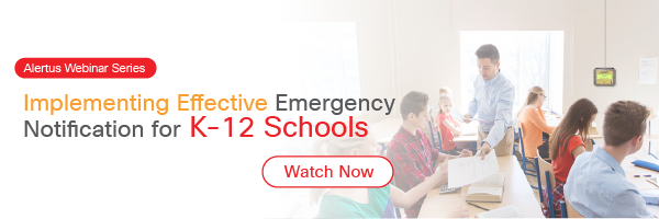 webinar on emergency notification for k-12 schools