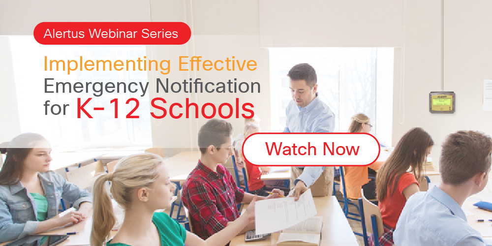 K-12 Emergency Notification Solutions