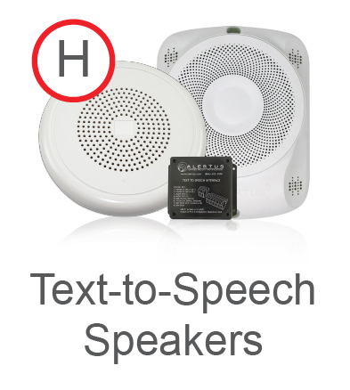 Text-to-Speech emergency Speakers
