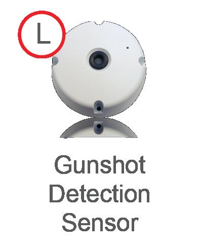 Gunshot Detection Sensor