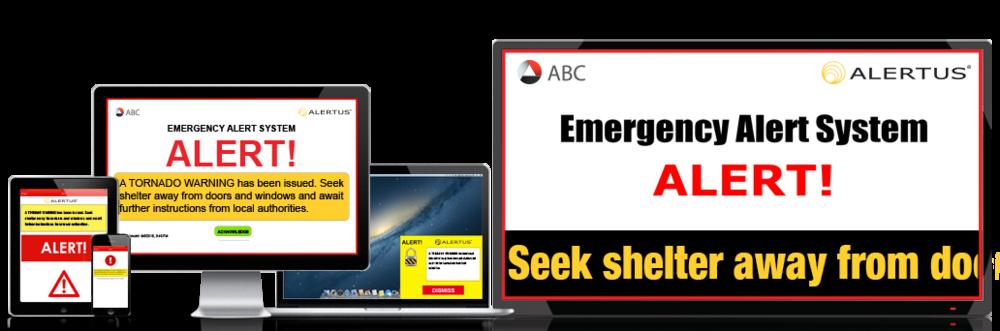 The Alertus Emergency Notification System