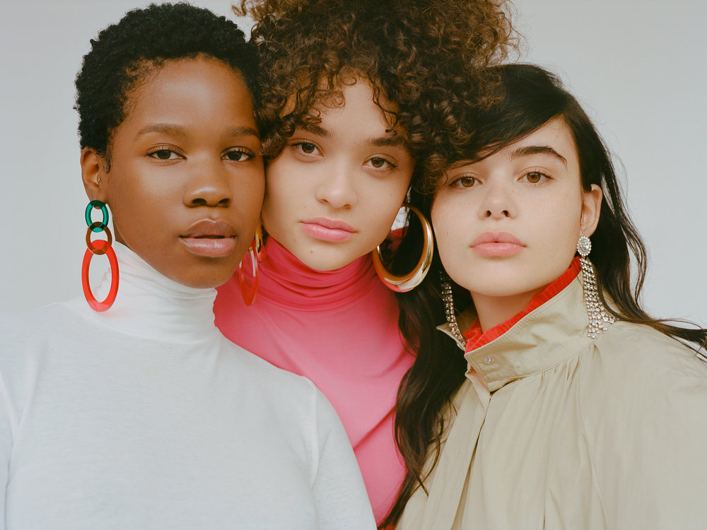 kemi, diana, & barbie for h&m