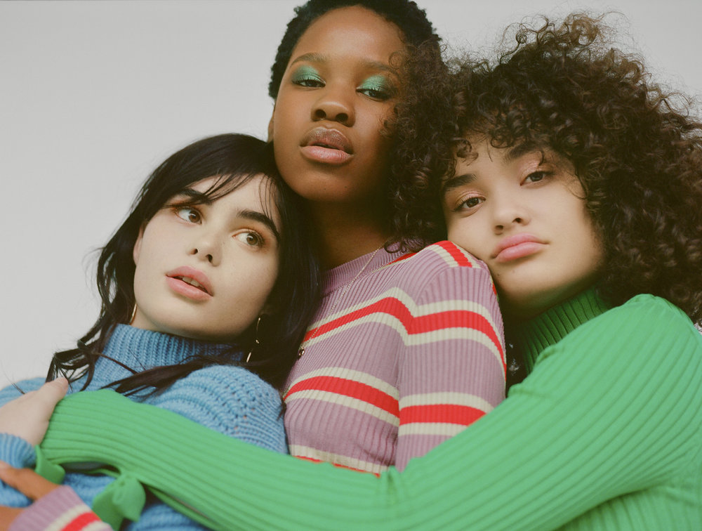 barbie, kemi, and diana for h&m
