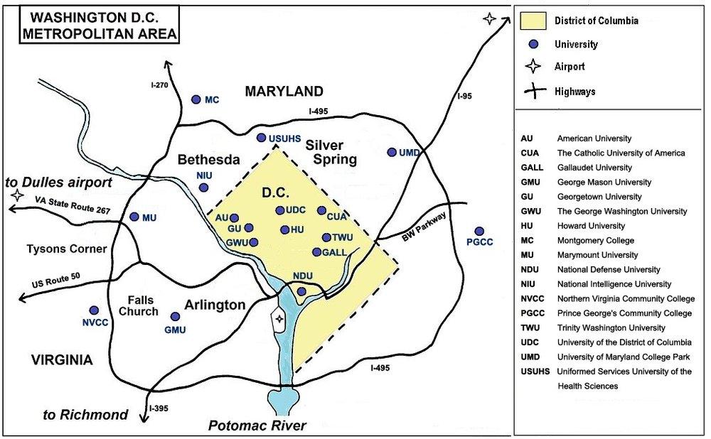 Location Consortium of Universities of the Washington