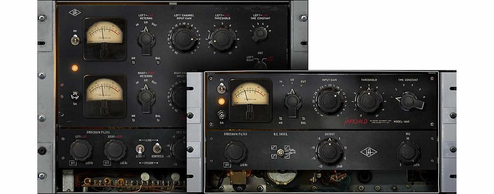 Universal Audio Fairchild Limiter collection