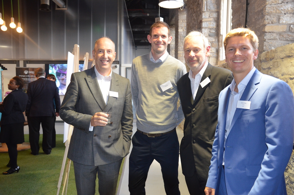 Barry Horner (Deki Trustee), Nick Brake (Entrepreneure), Robert Buckland (Bristol Business News), James Potten (CEO, Ecosurety).jpg