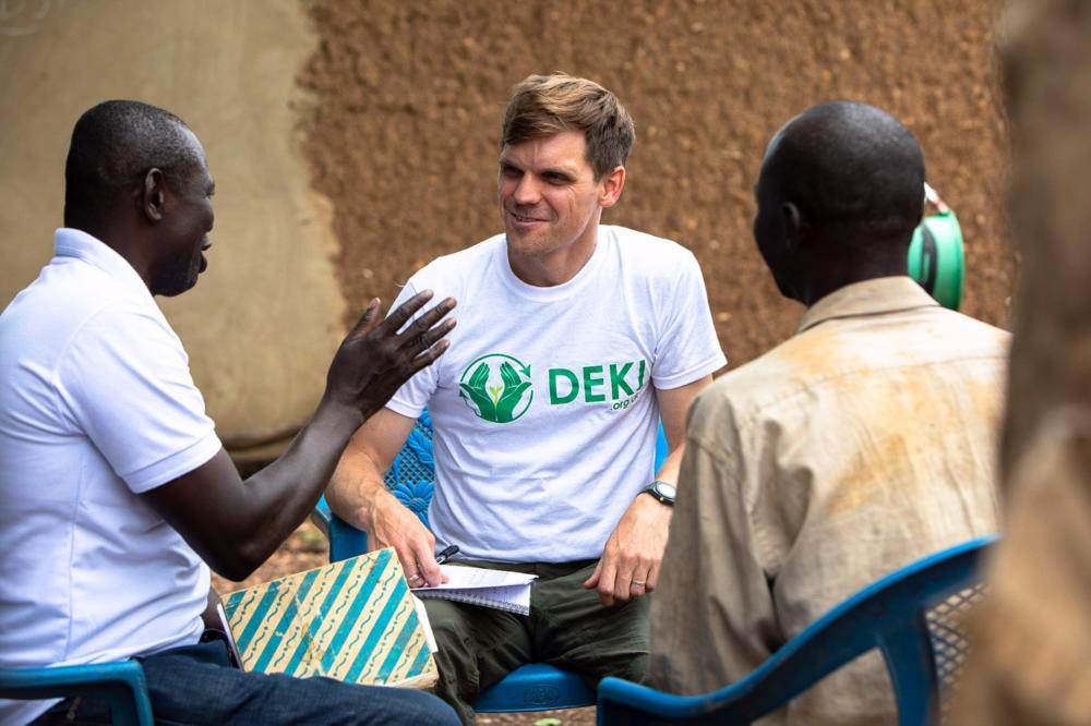 Field Partner visit in Ghana