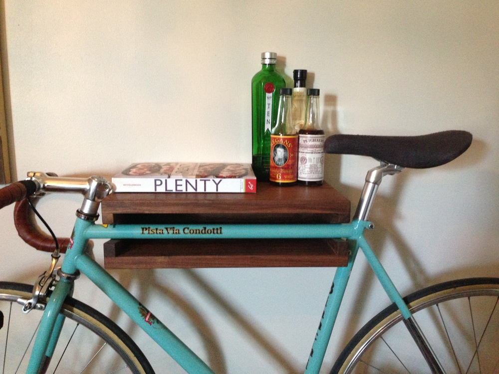 Eric's Bike Shelf