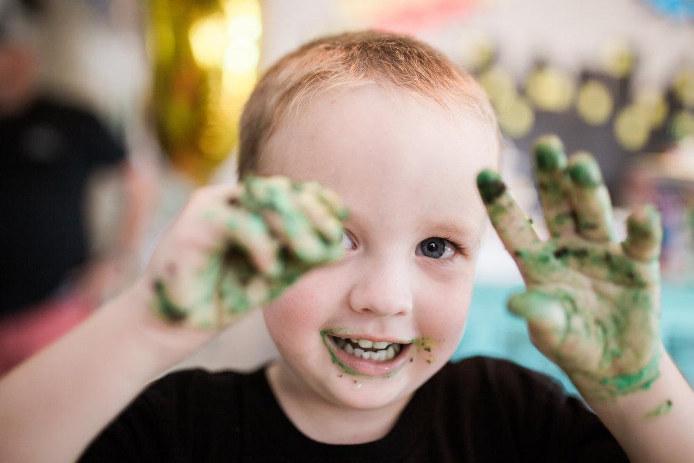 hulk birthday party, st pete fl photographer