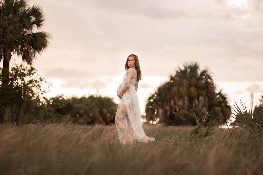 fort desoto maternity session