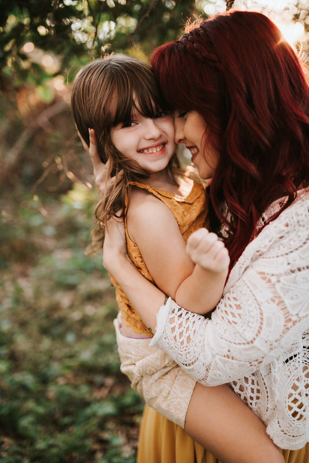 mother and daughter portrait, largo fl