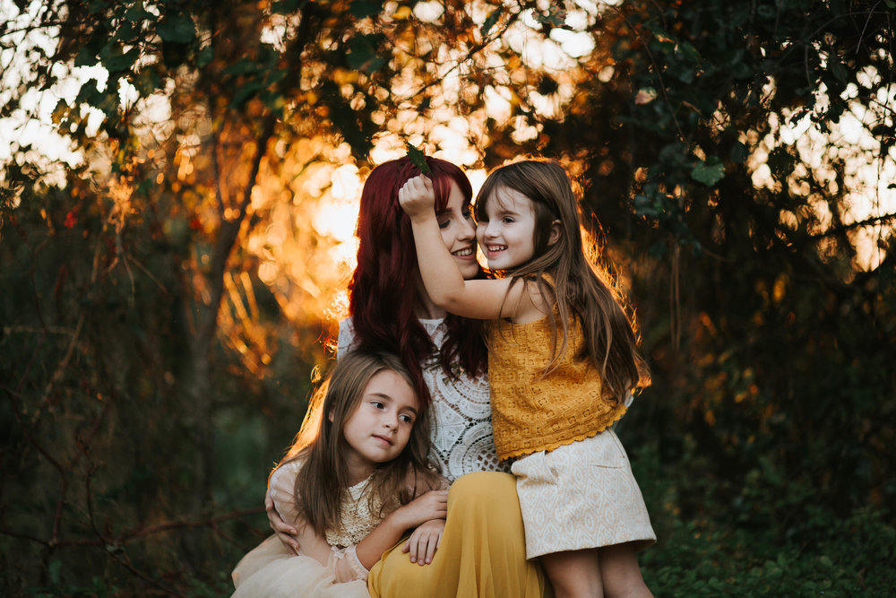 mother and children portraits, tampa bay fl