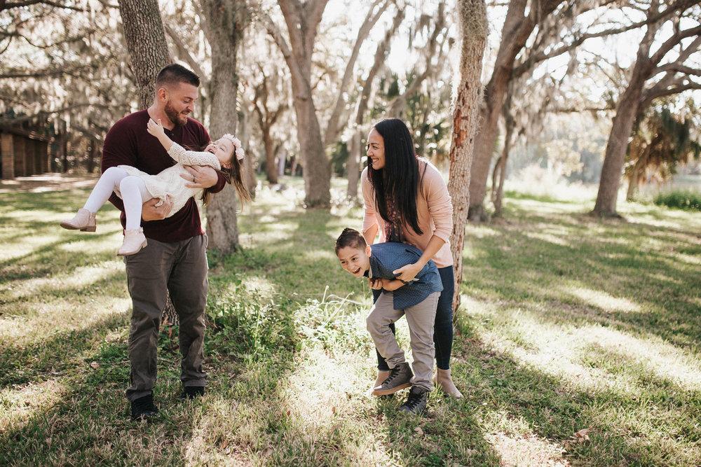 lake seminole family photography