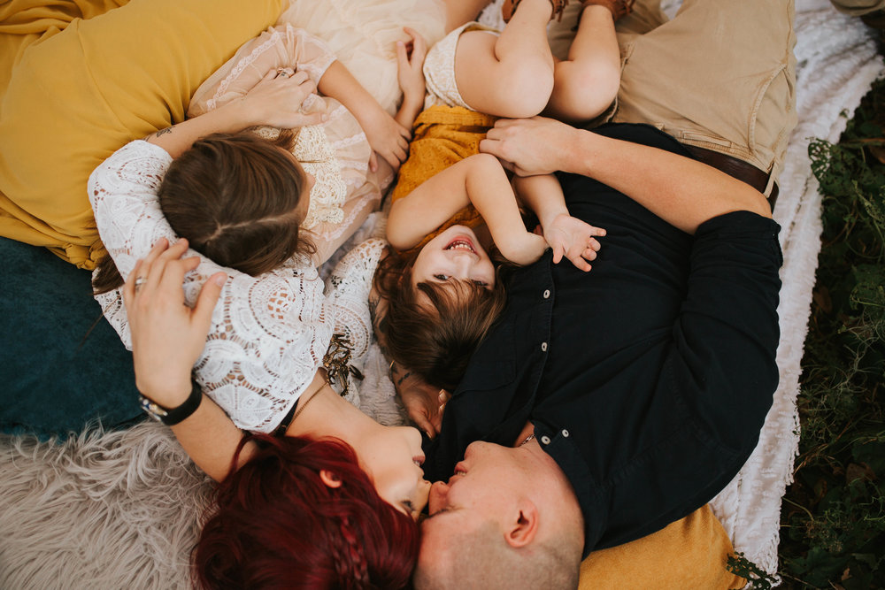 intimate family photo session, seminole fl