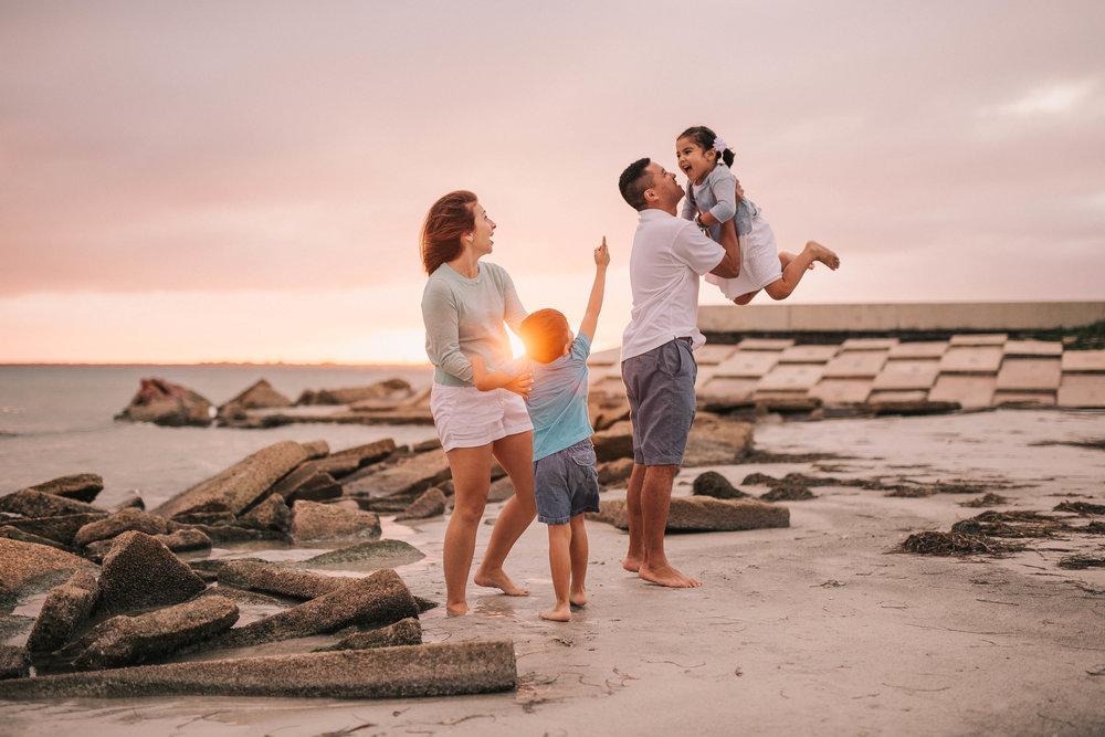 beach family photographer, central fl