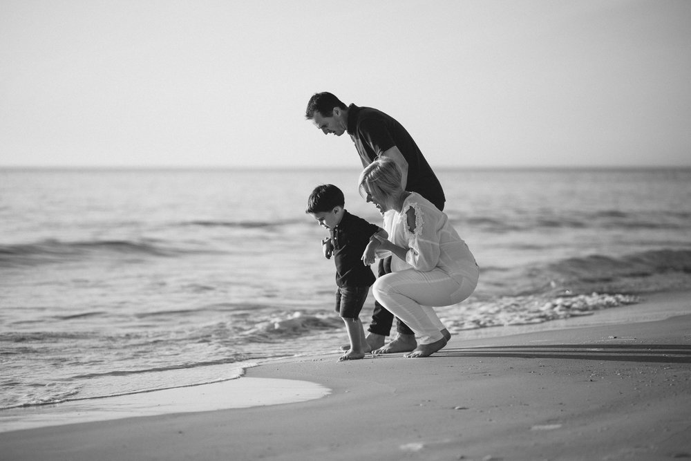 family beach session, bradenton beach fl