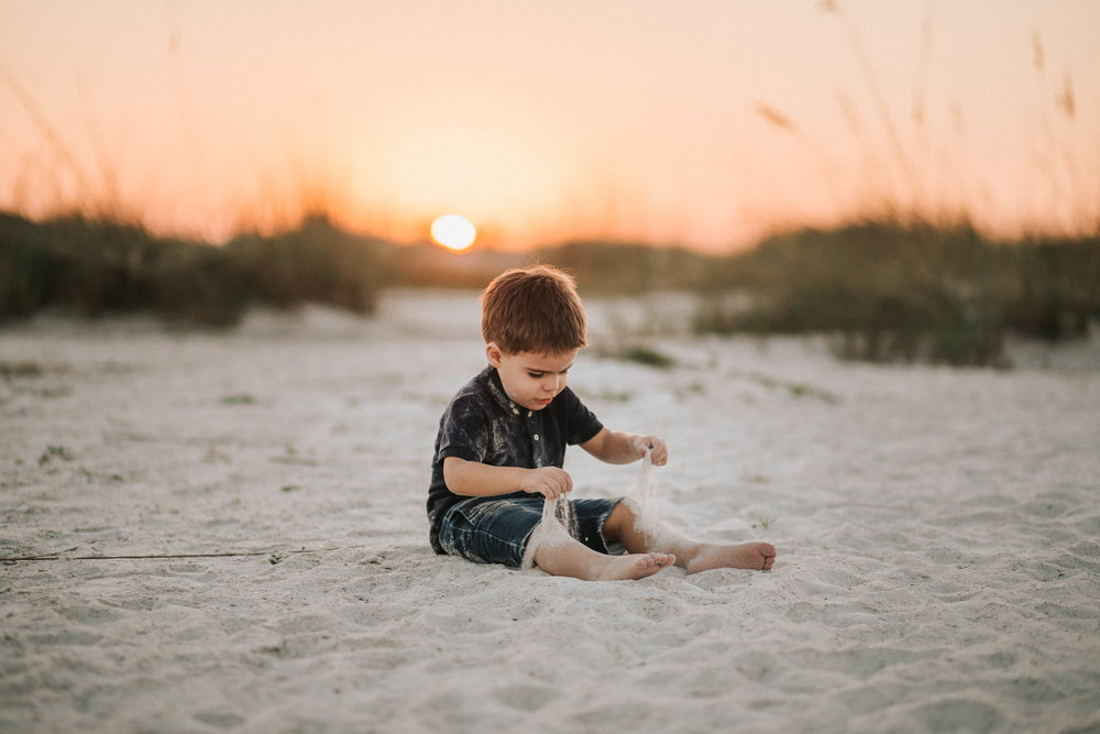 childhood portraits, bradenton beach fl