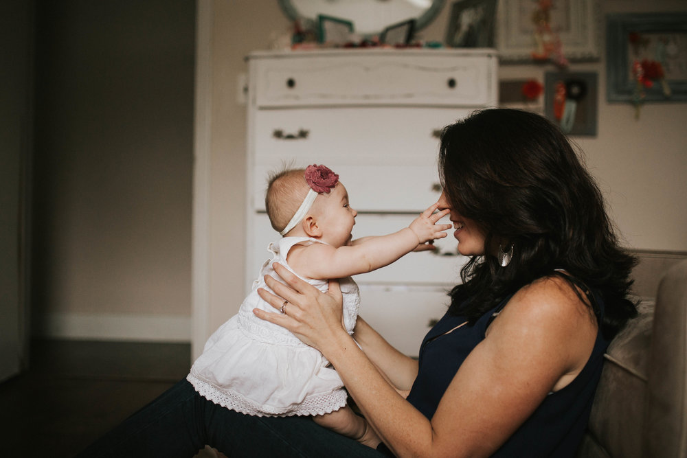 mother and daughter portraits, pinellas county fl