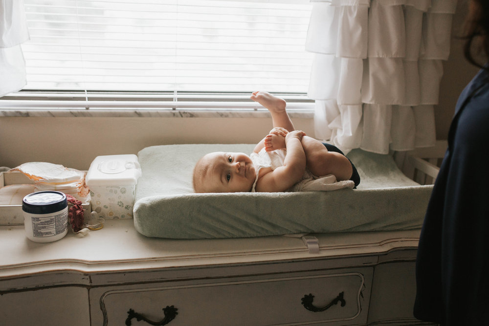 in home baby photography, pinellas county