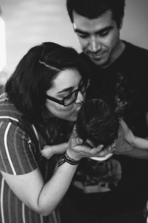 in home newborn photo shoot, tampa bay fl