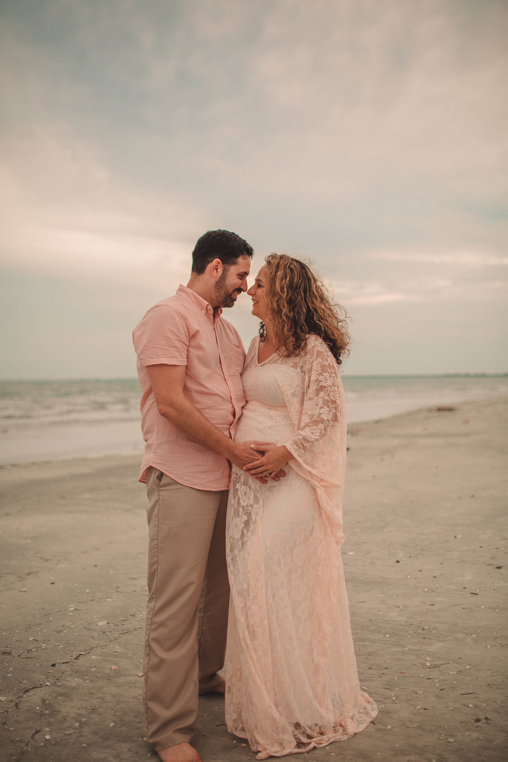 couples maternity photography, tampa bay