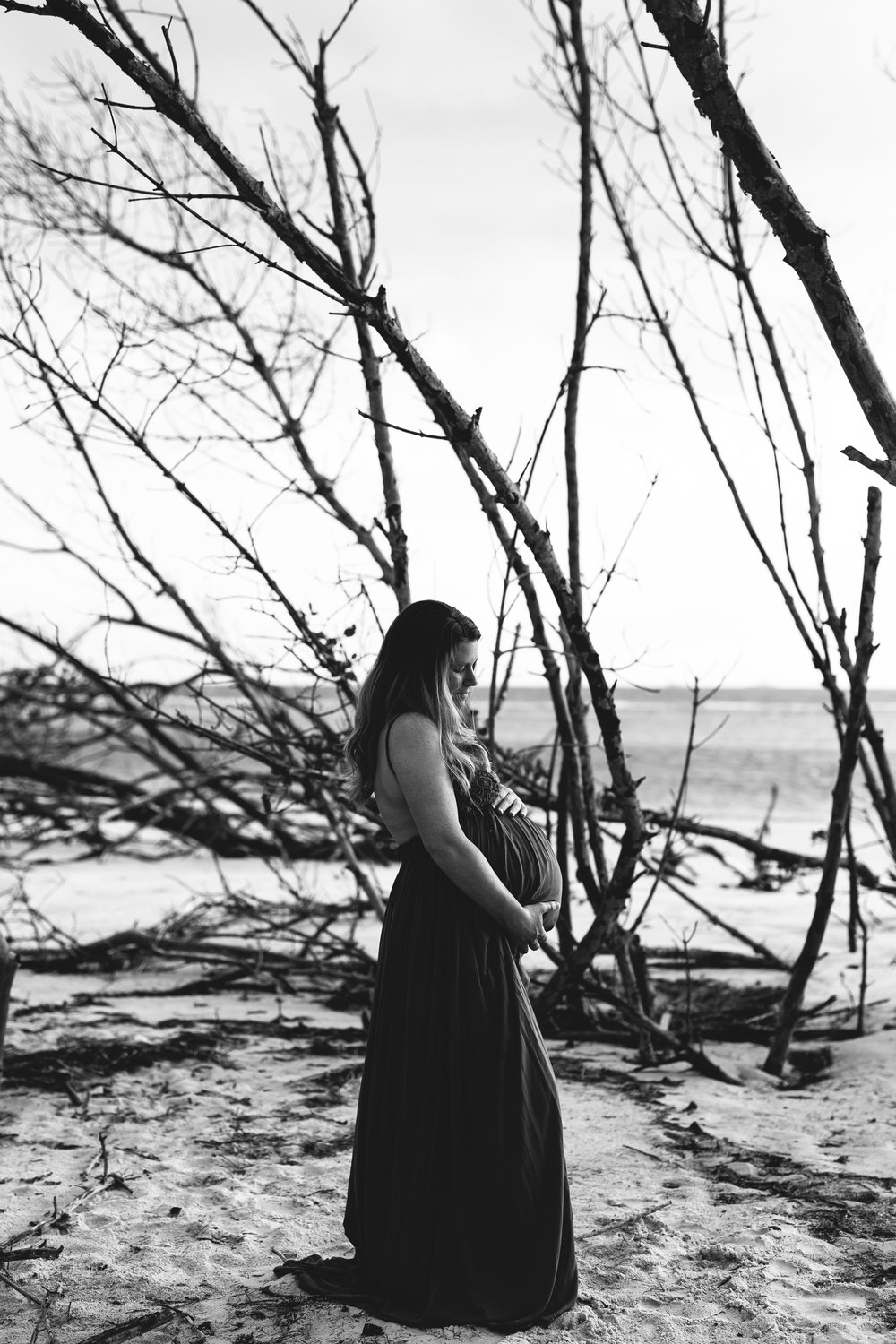 fort despot fl beach maternity session