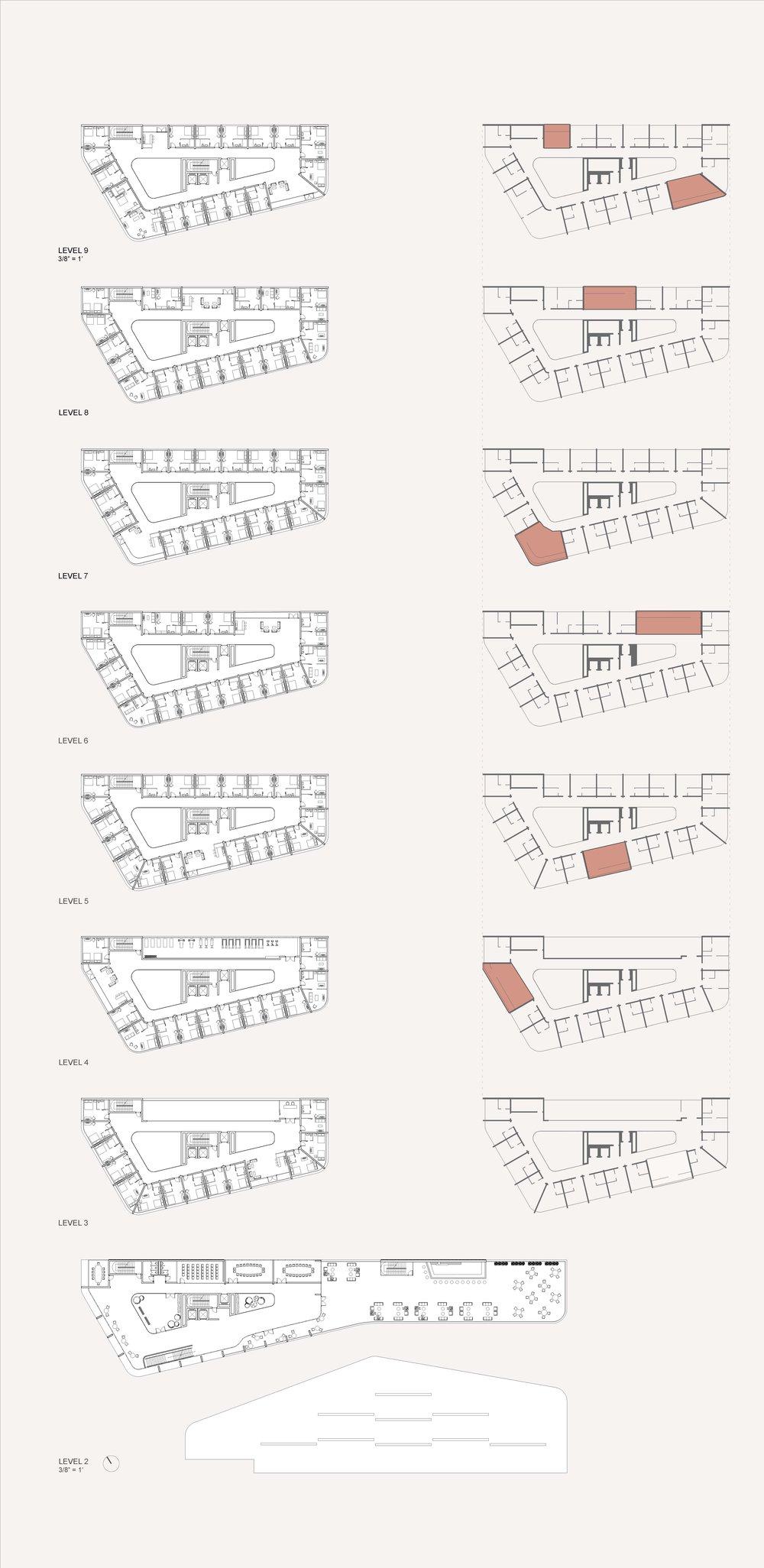Upper Floor Plans