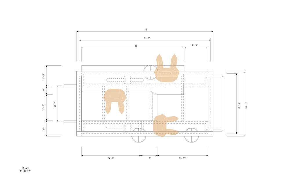 Lounge Porch: Plan