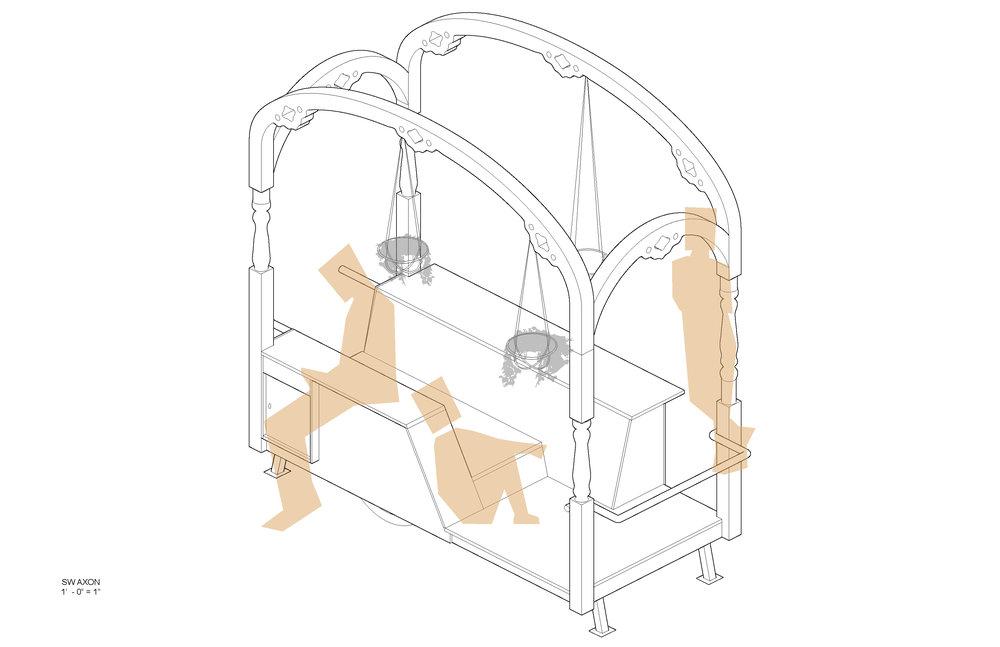 Lounge Porch: Axon