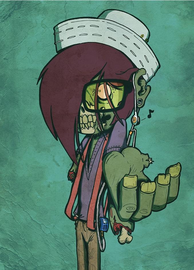 Zombie Shrug