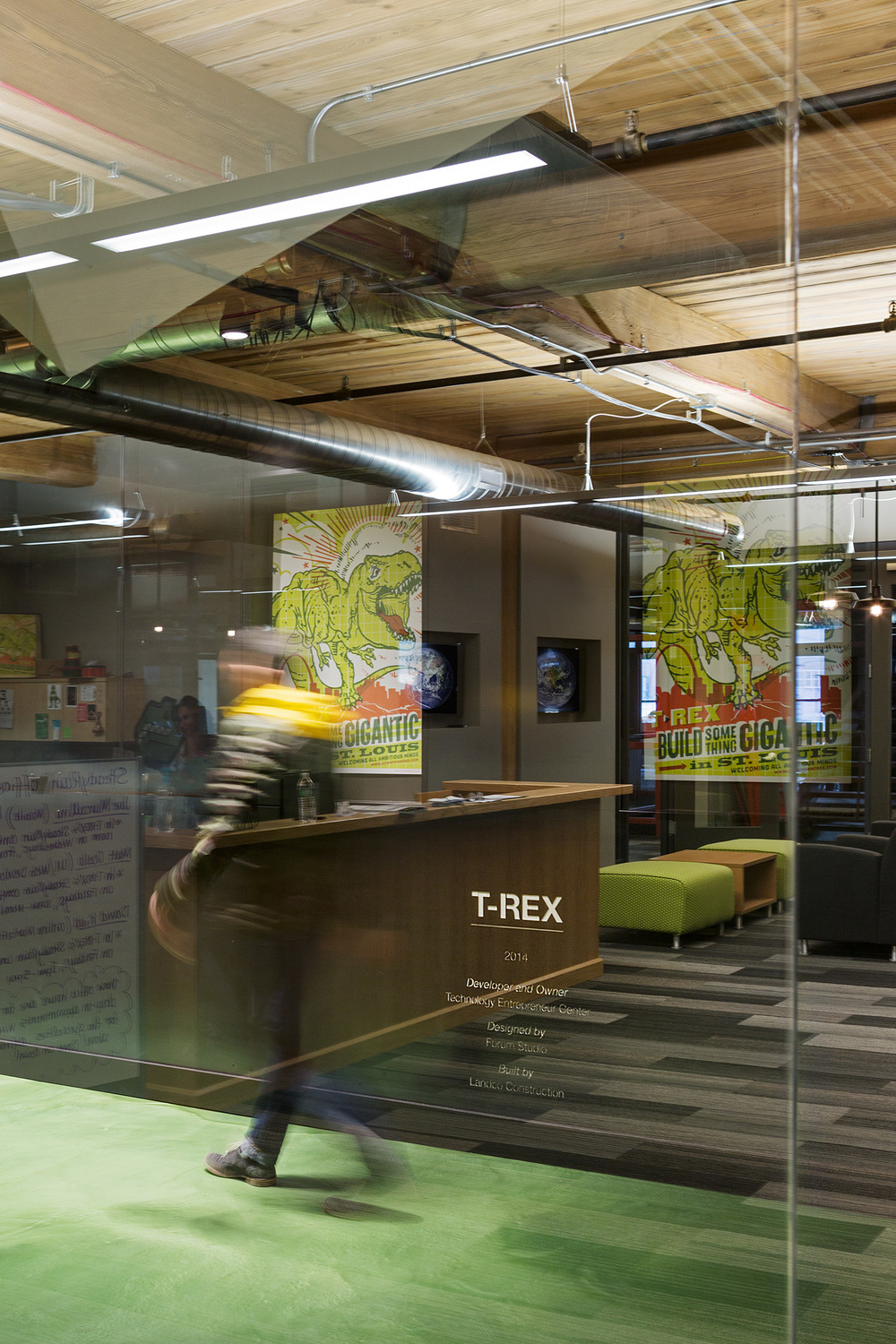 T-Rex Tech Incubator / St. Louis MO / Forum Studio