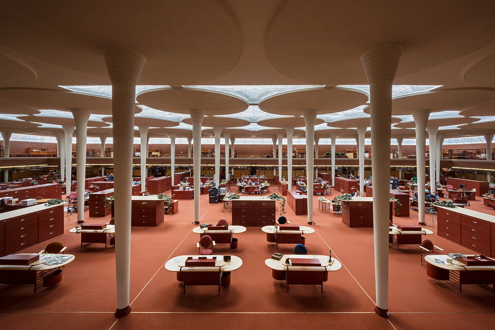 SC Johnson Company / Racine WI / Frank Lloyd Wright / For the New York Times
