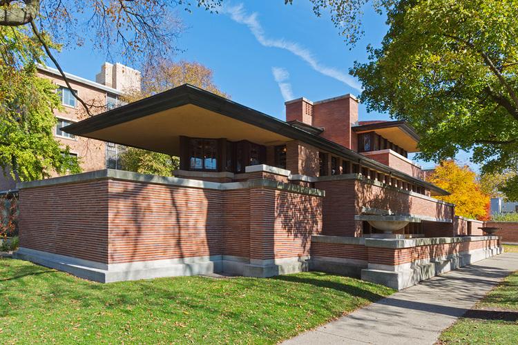 robie house bill zbaren architectural photographer
