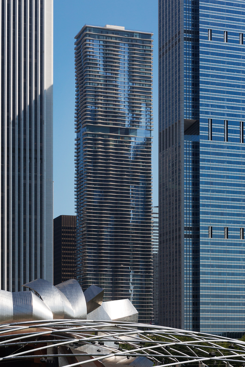 Aqua Tower / Studio Gang / Chicago IL