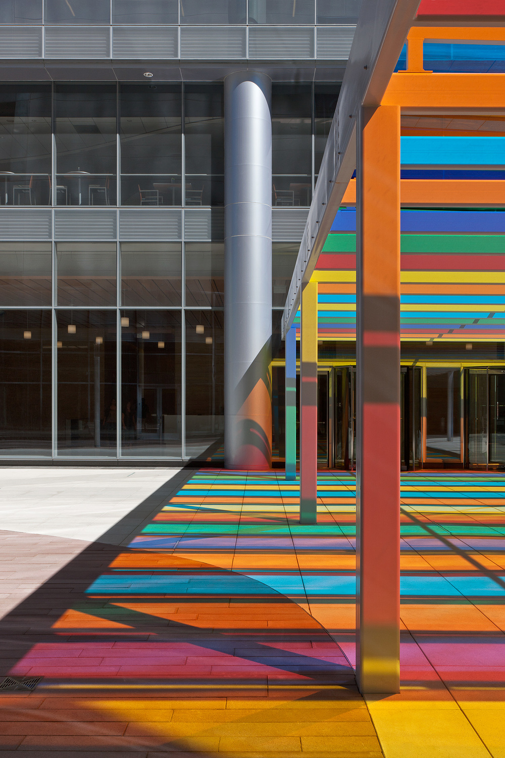 Centene Building / St. Louis MO / HOK / Canopy by Liam Gillick