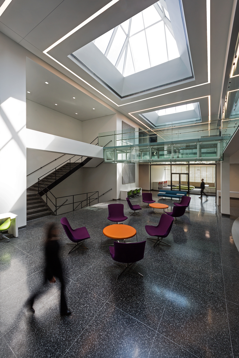 Rettaliata Engineering Center / Illinois Institute of Technology / Chicago IL / Lohan Anderson