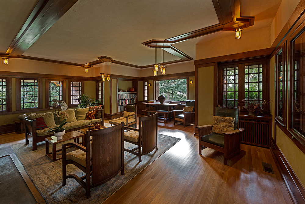 Beachy House / Oak Park IL / Frank Lloyd Wright:
