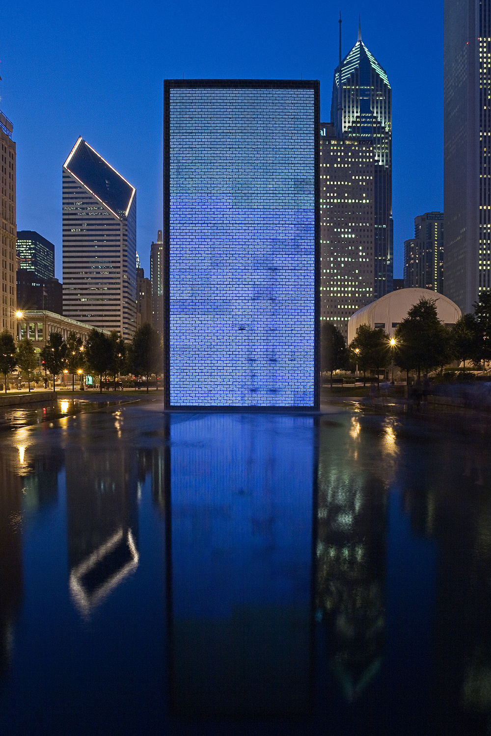 Crown Fountain / Chicago IL / Krueck & Sexton Architects