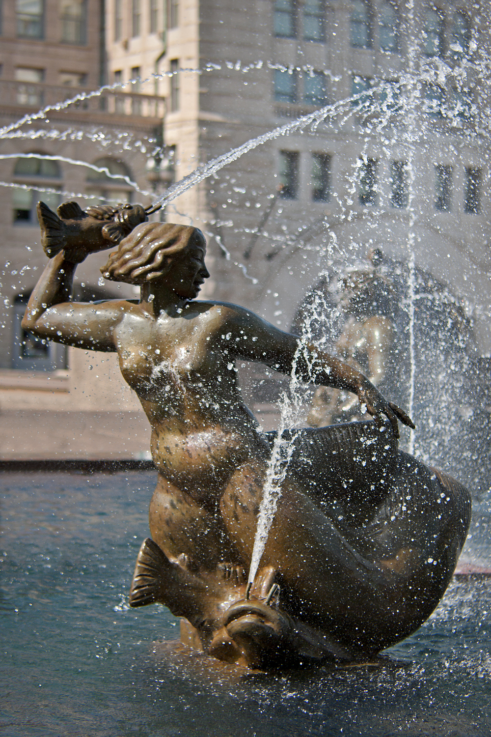 Milles Fountain / St. Louis MO / Carl Milles / 1939