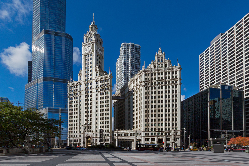 Wrigley Building / Graham,Anderson, Probst & White / Chicago IL / For The New York Times