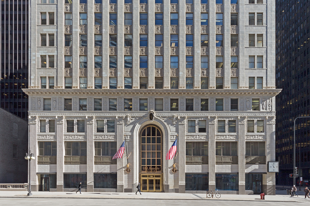 Old Republic Building / NewWorld Design (restoration) / Chicago IL