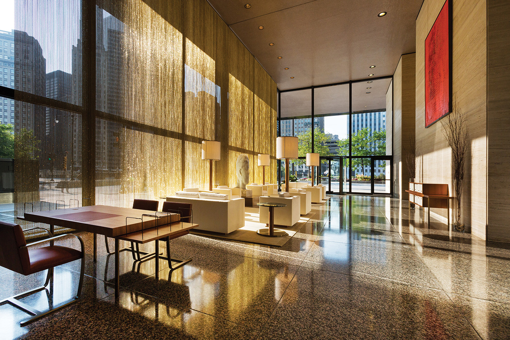Langham Chicago Hotel / Interiors by Lohan Anderson, Richmond International & The Rockwell Group / Chicago IL