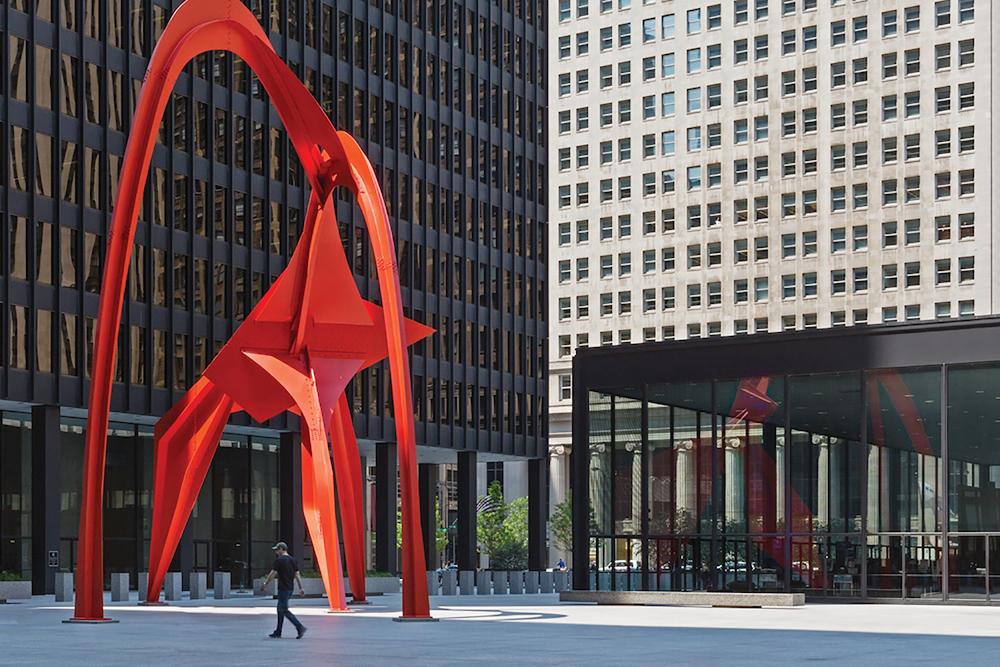 Federal Center / Mies van der Rohe / Chicago IL