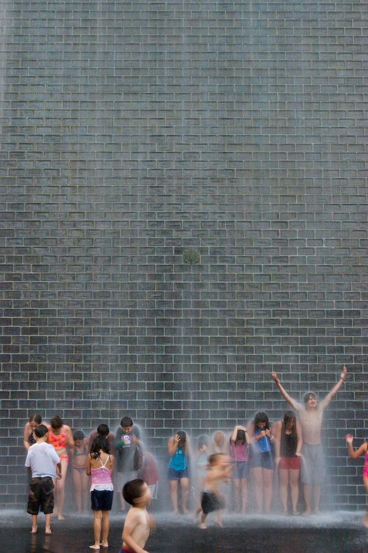 Crown Fountain / Krueck & Sexton Architects / Chicago IL