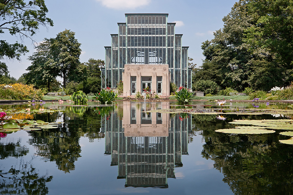 Jewel Box / William C.E. Becker / St. Louis MO