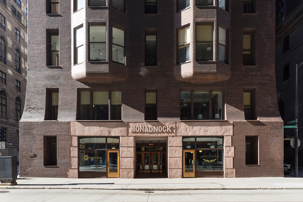 Monadnock Building / Burnham & Root / Chicago IL / Restoration by John Vinci