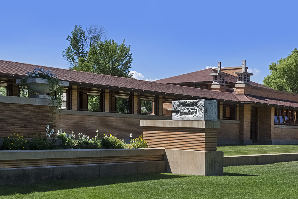 Darwin D. Martin House / 1905 / Buffalo NY / Frank Lloyd Wright Architect